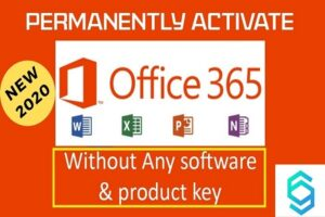 Activate Microsoft Office 365 Without Product Key - New Method 2021
